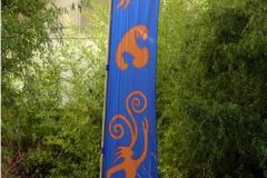 Fahne blau