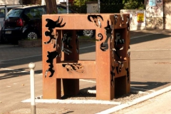 Skulptur Straße