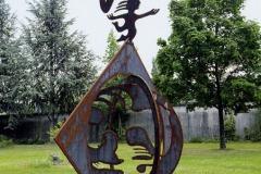 Skulptur außen