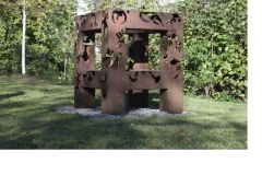 Skulptur Wiese