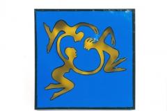 Figuren blau