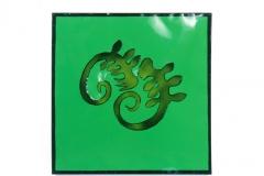 Figuren grün
